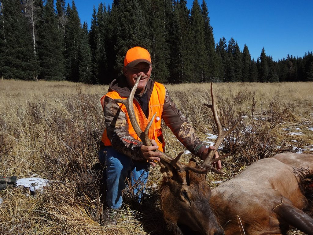 elk hunting Colorado, 1st season 2017, Dave