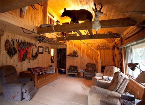When elk hunting Colorado stay in our cabin