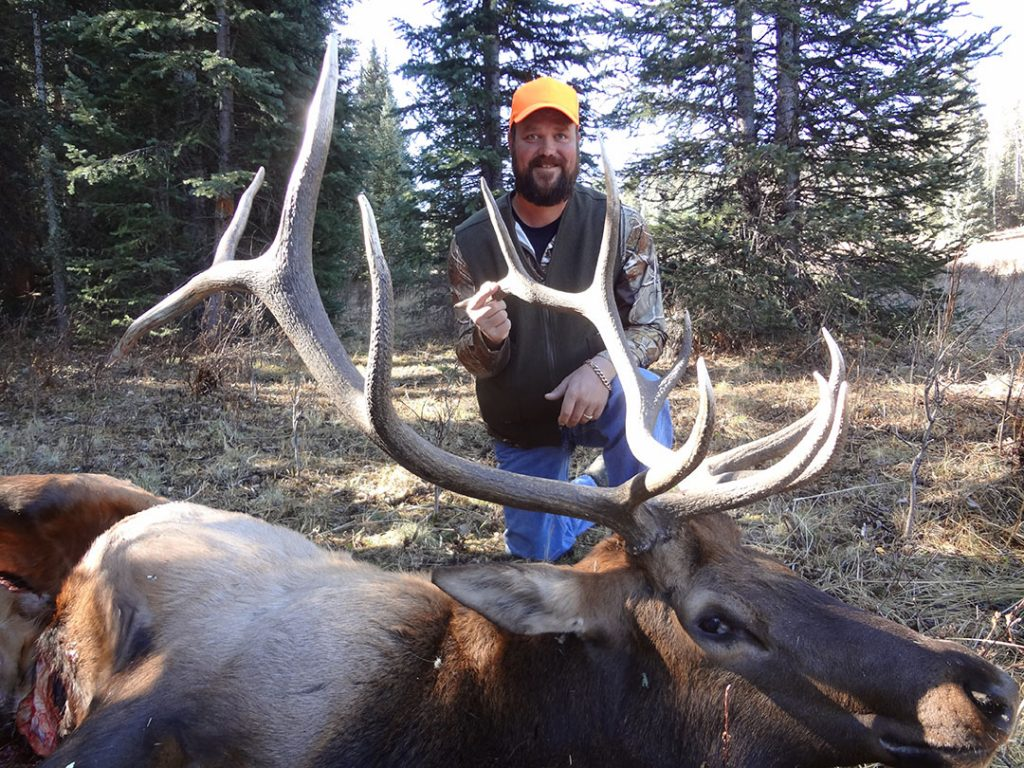 Elk hunting Colorado, for Travis this his 2nd trip.